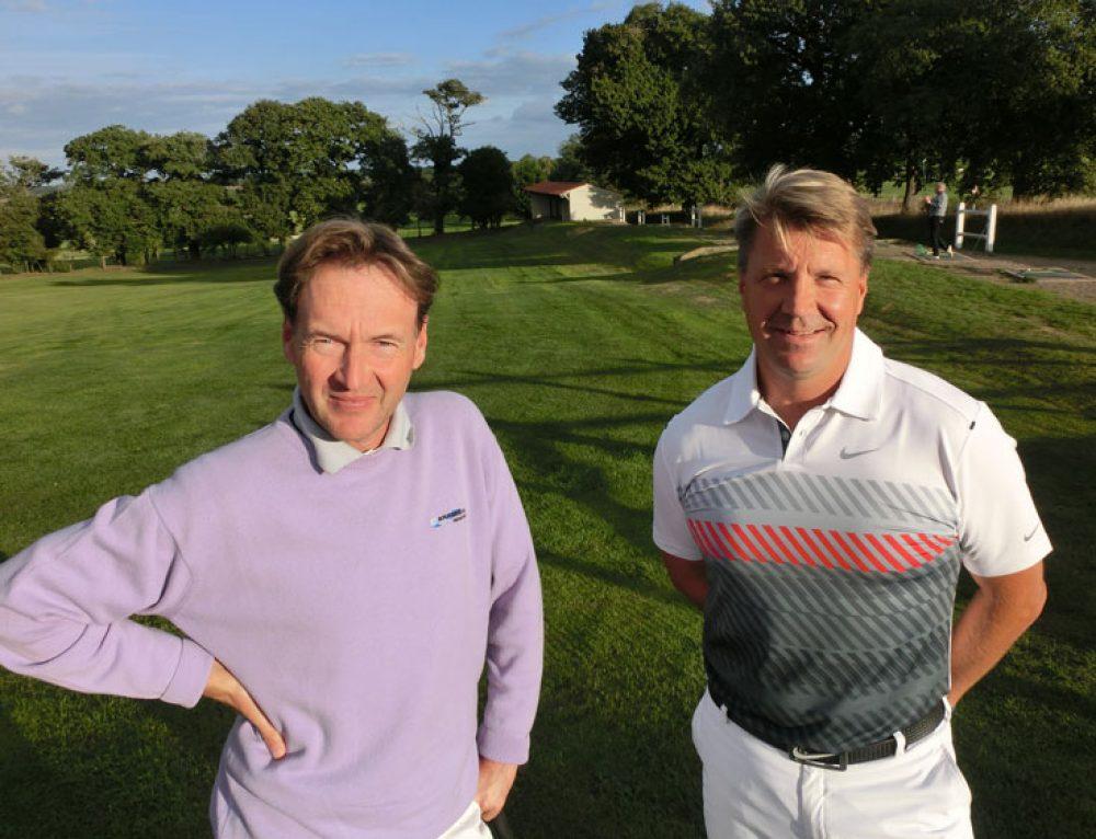 Henrik Lundqvist au golf des Sables d'Olonne