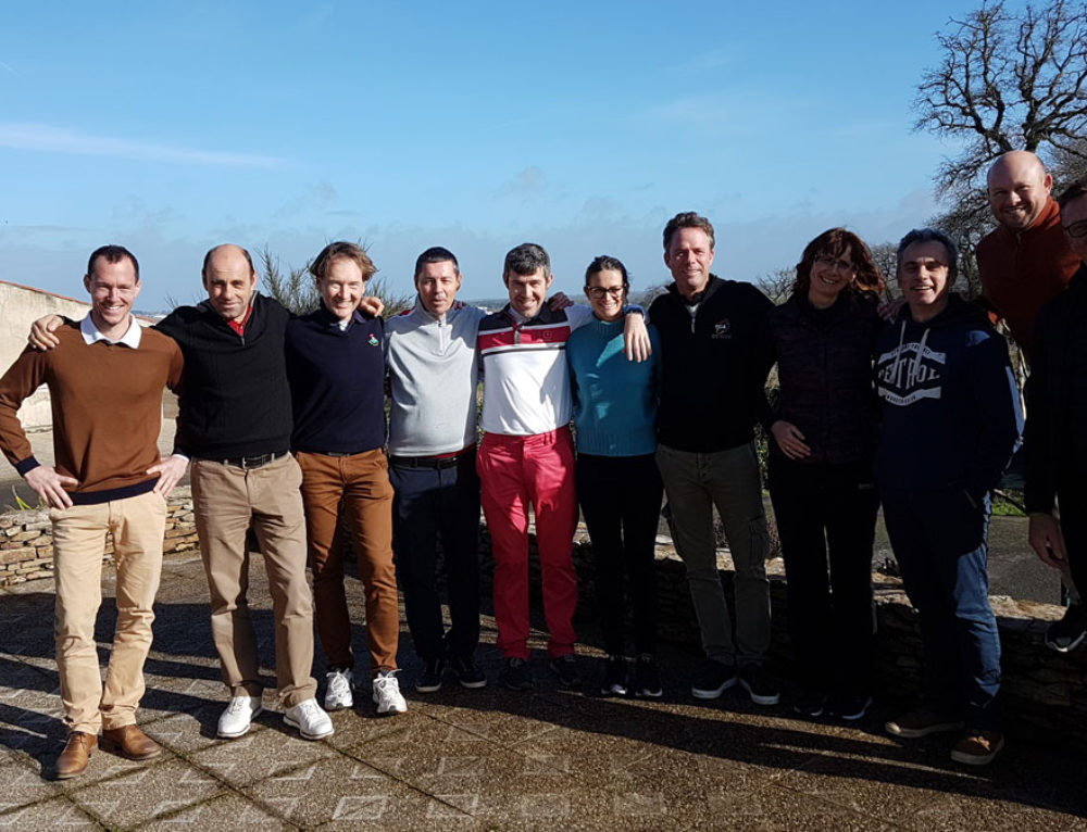 Formation « Action Types » au golf des Sables d'Olonne