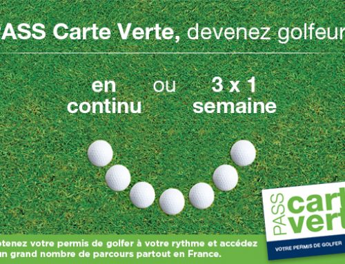 PASS Carte Verte au Golf des Sables d'Olonne